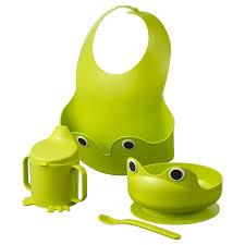 Mata 4 Piece Dinnerware Set Green Ikea