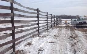 Mndot Landowners Install First Of Its Kind Snow Fence The Globe