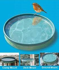 Deck Mount Bird Baths And Water Accessories At Wild Birds Forever