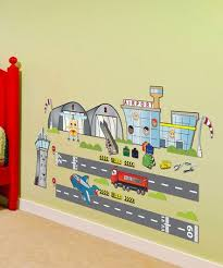 Take A Look At This Airport Wall Decal Set By Mona Melisa Designs On Zulily Today Wall Decals Kids Room Playset