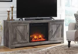 tv stand w fireplace insert