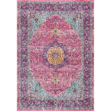 pink 4 x 6 area rugs at