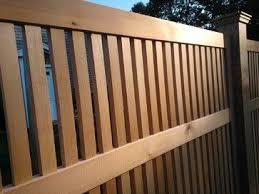 Cedar Fence Contemporary Fencing Cedar Fence Contemporary Fencing Red Cedar Wood
