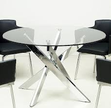 modern dining room furniture glass