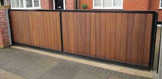 Metal Frame Timber Gates Mulhollands Contracts