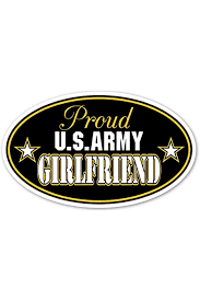Amazon Com Proud Girlfriend Of Us Army Euro Vinyl Decal Bumper Sticker Perfect For Car Wall Window Laptop Motorcycle Bike Helmet And Any Smooth Surface 3 X 5 Inches 3 Stickers