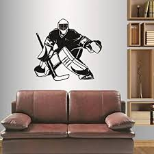 Amazon Com In Style Decals Wall Vinyl Decal Home Decor Art Sticker Hockey Player Sport Boy Kids Ice Rink Any Room Removable Stylish Mural Unique Design 785 Home Kitchen