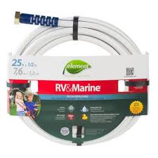 dia x 25 ft rv and marine water hose