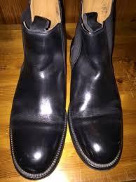 london uk 8 mens black leather chelsea