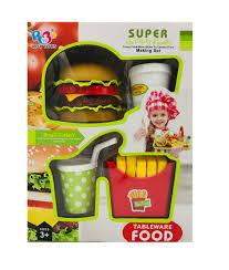Bộ Đồ Chơi Fast Food Cho Bé [7295/6] - HAPPY TIME