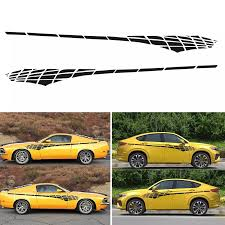 More Funny 4 Color Car Side Body Racing Long Stripe Vinyl Decals Graphics Decor Sticker Diy Wholesale Quick Delivery Csv Car Stickers Aliexpress