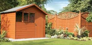 How To Paint Refresh Your Garden Shed Homebase