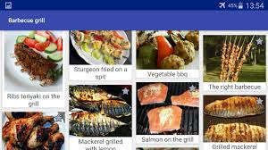 Barbecue Grill Recipes for Android ...
