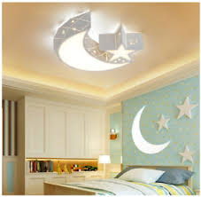 Moon Star Led Chandeliers Ceiling Lights Child Kids Girls Bedroom Lighting Decor Ebay