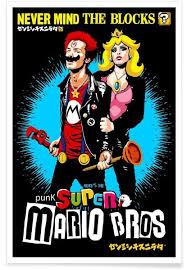 punk super mario bros never mind the