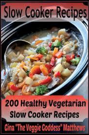 healthy vegetarian slow cooker recipes