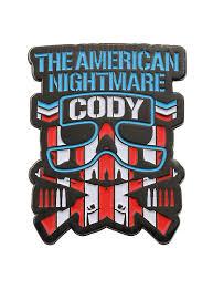 New Japan Pro Wrestling Bullet Club Cody Enamel Pin