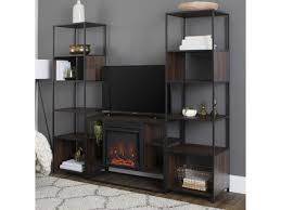 electric fireplace console tv