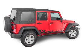 2007 2018 Jeep Wrangler Jk Stickers Decals Quadratec