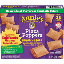 three cheese pizza poppers annie s