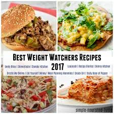 my favorite weight watchers recipe sites