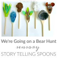Sensory Storytelling Spoons for We're Going on a Bear Hunt - The ...
