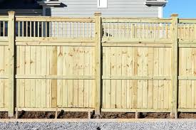 How To Build A Strong Privacy Fence For A High Wind Area Hunker Privacy Fence Designs Fence Design Privacy Fences