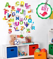 Kindergarten Decor Preschool Wall Decal Abc Decals Alphabet Etsy