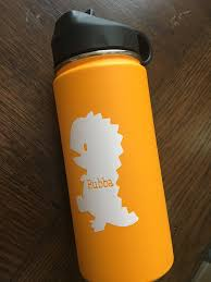 Children S Hydro Flask Decal Hydroflask Decals Bubandjax Dinosaurstickers Personalized Decals Tumbler Cups Personalized Hydroflask