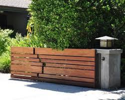 Wood Fence Designs Acnn Decor