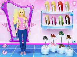 barbie dress up games fashion games