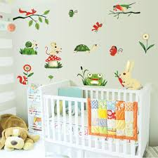 Fundecor Cartoon Frog Insect Farm Animals Wall Stickers Diy Nursery Baby Children Room Home Decor Kids Removable Wall Decals Kids Removable Wall Stickers From Chairdesk 10 83 Dhgate Com