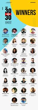 SS30Under30 winners' list is here! Take a bow - Social Samosa