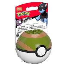 MEGA Construx - Pokemon Pokeball Set S12 - DEINO in Nest Poke Ball (25  Pieces) GMD24: BBToyStore.com - Toys, Plush, Trading Cards, Action Figures  & Games online retail store shop sale