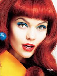 makeup for blue green eyes and red hair