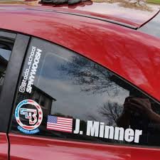 Drivers Name Vinyl Decals Spinnywhoosh Graphics