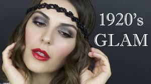 makeup hair tutorial 1920 s flapper