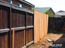 How To Stain A Fence Fast Even If It Needs To Be Refinished Fence Paint Fence Stain Cover Stains