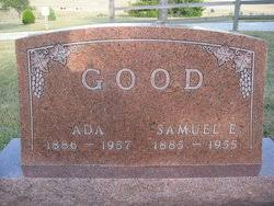 Ada Richardson Good (1886-1957) - Find A Grave Memorial