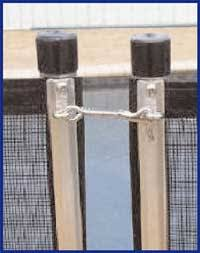 Safety Fence Stainless Steel Latches
