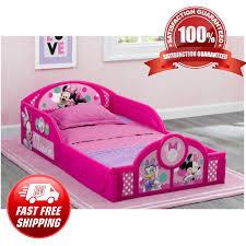 Pink Minnie Mouse Toddler Bed Frame Kid Child Bedroom Furniture Boy Girl For Sale Online