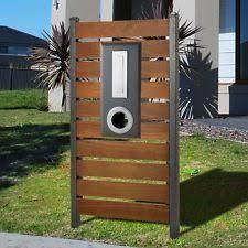 Timber Letterbox Ebay Beach House Decor Letter Box Outdoor Decor