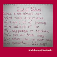 quotes about school year end quotes