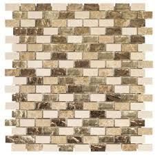 brown tile backsplashes tile the