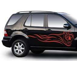 Red Tiger Car Decal Style And Apply