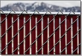 Noodle Link Pre Inserted Chain Link Fence Slats Privacylink