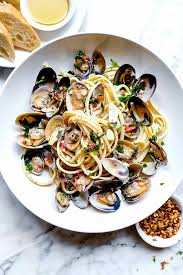 Linguine with Clam Sauce ...
