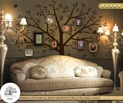 Large Photo Tree Wall Decal For Nursery Family Tree Woodland Theme