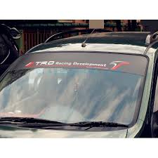 Trd Windshield Decal Style 4
