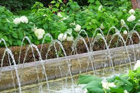 water feature industry stock image